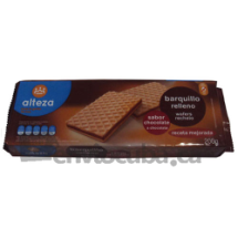 200 g-Galletas barquillo chocolate