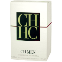 "100 ml-Agua de tocador CH MEN, ""CAROLINA HERRERA"""