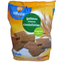 350 g-Galletas integrales CASTELLANA