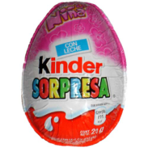 20 g-Chocolate Kinder SORPRESA