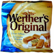115 g-Caramelos toffee Werther's Original