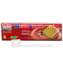 250 g-Galletas ARLUY sabor chocolate