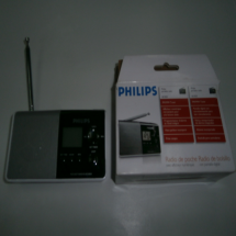 """PHILIPS"", Radio portátil"