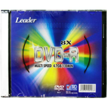 """LEADER"", Disco DVD-R"