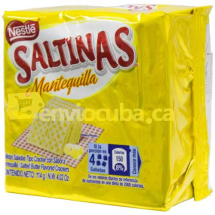 114 g-Galletas saltinas mantequilla