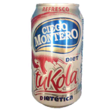 355 ml-Refresco tuKola dietético