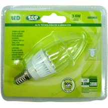 "Bombillo LED, ""ECO Max"""
