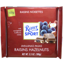 100 g-Tableta de chocolate Ritter SPORT