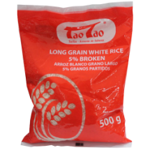 500 g-Arroz blanco grano largo