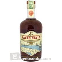 700 ml-Ron PACTO NAVIO