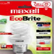 """maxell"", Bombillo LED E-27"