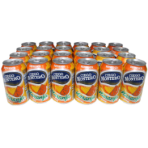 24 Refresco naranja de lata de 355ml