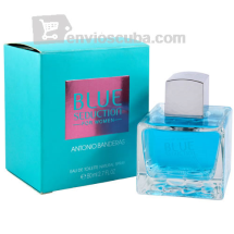 "Agua de tocador BLUE SEDUCTION, ""ANTONIO BANDERAS"""