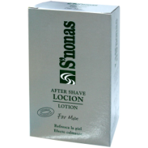 Loción after shave S'nonas