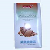 150 g-Tableta de chocolate con leche y avellana