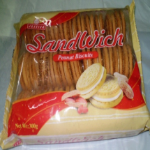 300 g-Galleta sandwich peanut