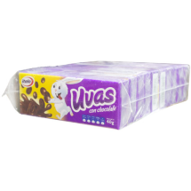 40 g-Uvas con chocolate