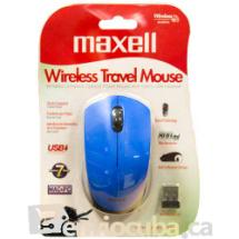 """maxell"", Mouse inalámbrico MOWL-200 Blue"
