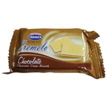22 g-Galleta sabor chocolate