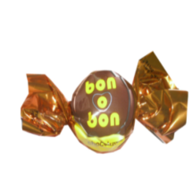 15 g-Chocolate blanco bon o bon