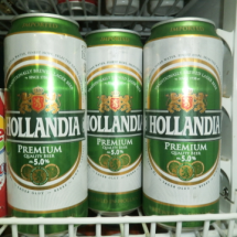 500 ml-Cerveza HOLLANDIA