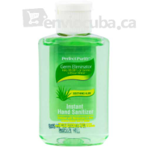 Gel antibacterial sooting aloe