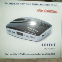 """GELECT"", Decodificador digital HDTV"