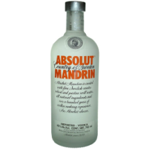 750 ml Vodka ABSOLUT MANDARIN