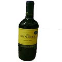 750 ml-Vino tinto Merlot Sunrise