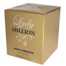 "Agua de perfume Lady MILLION, ""paco rabanne"""