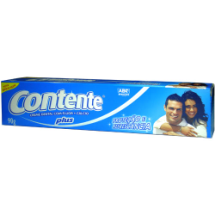 "Crema dental, ""Contente"", plus"