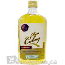 350 ml-Ron Cubay carta dorada