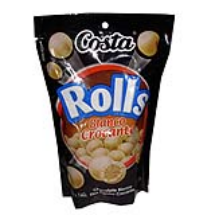 140 g-ROLLS de chocolate blanco