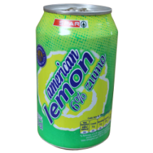 33 cl-Refresco american lemon