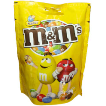 "250 g-Chocolate con maní, ""m&m's"""