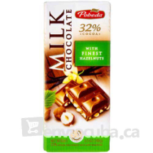 100 g-Tableta de chocolate con leche y avellanas