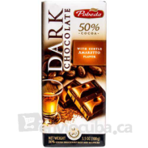 100 g-Tableta de chocolate negro amaretto