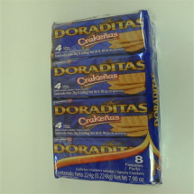28 g-Galletas saltines doradas