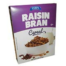 6 oz-Cereal con pasas