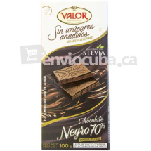 100 g-Chocolate negro 70% VALOR