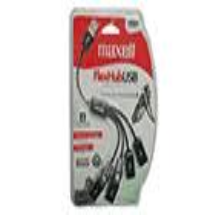 """maxell"", Cable flexible USB MUSB-333-6FT"