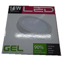 PANEL LED RED SPR 18W 9 6400K 100-265V 70LM W