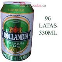 96x330 ml-Cerveza HOLLANDIA