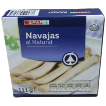 111 g-Navajas al natural