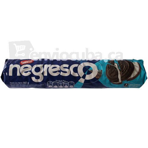 140 g-Galleta negresco biscoito