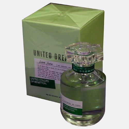 "80 ml-Agua de tocador Live, ""UNITED COLORS OF BENETTON"""