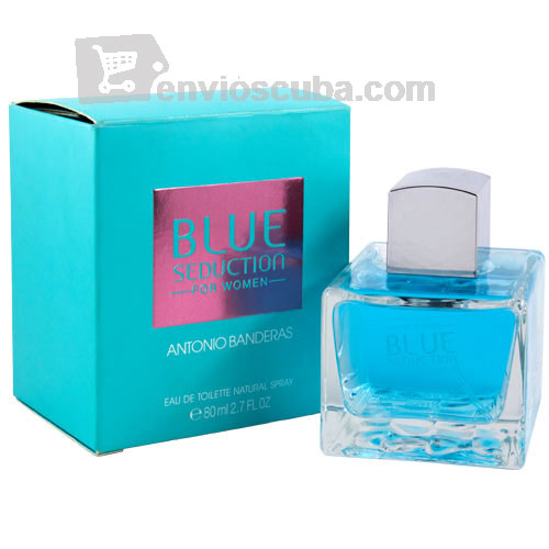 "80 ml-Agua de tocador BLUE SEDUCTION, ""ANTONIO BANDERAS"""