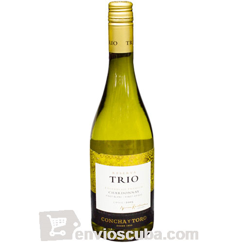 750 ml-Vino blanco TRIO