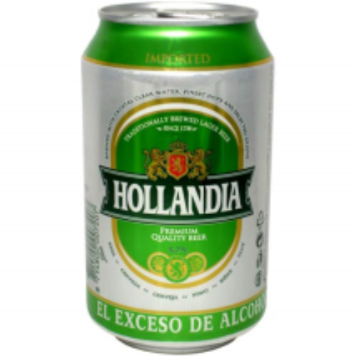 330 ml-Cerveza HOLLANDIA