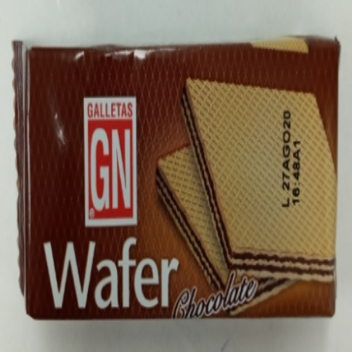 Wafer de chocolate individual